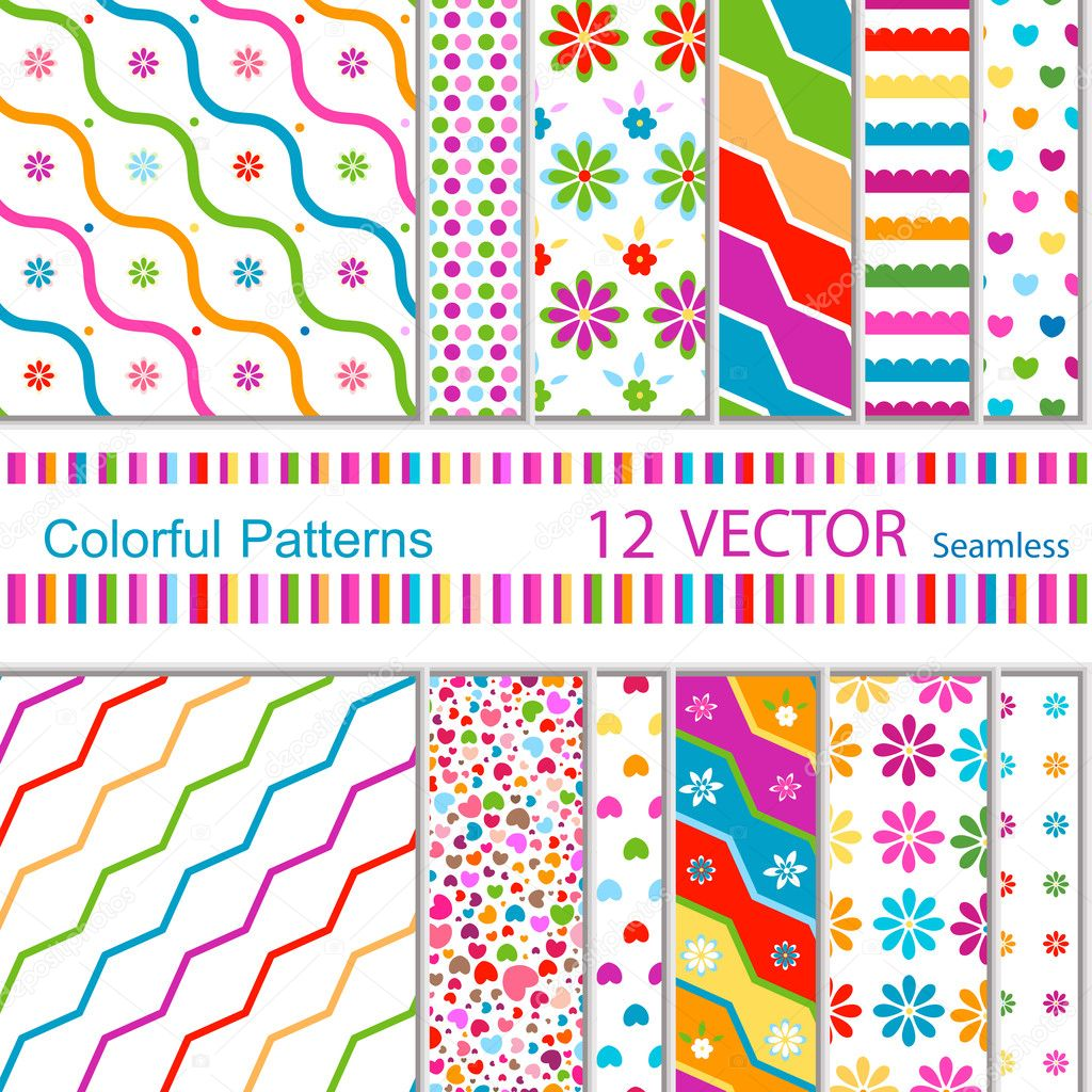 12 vector patterns