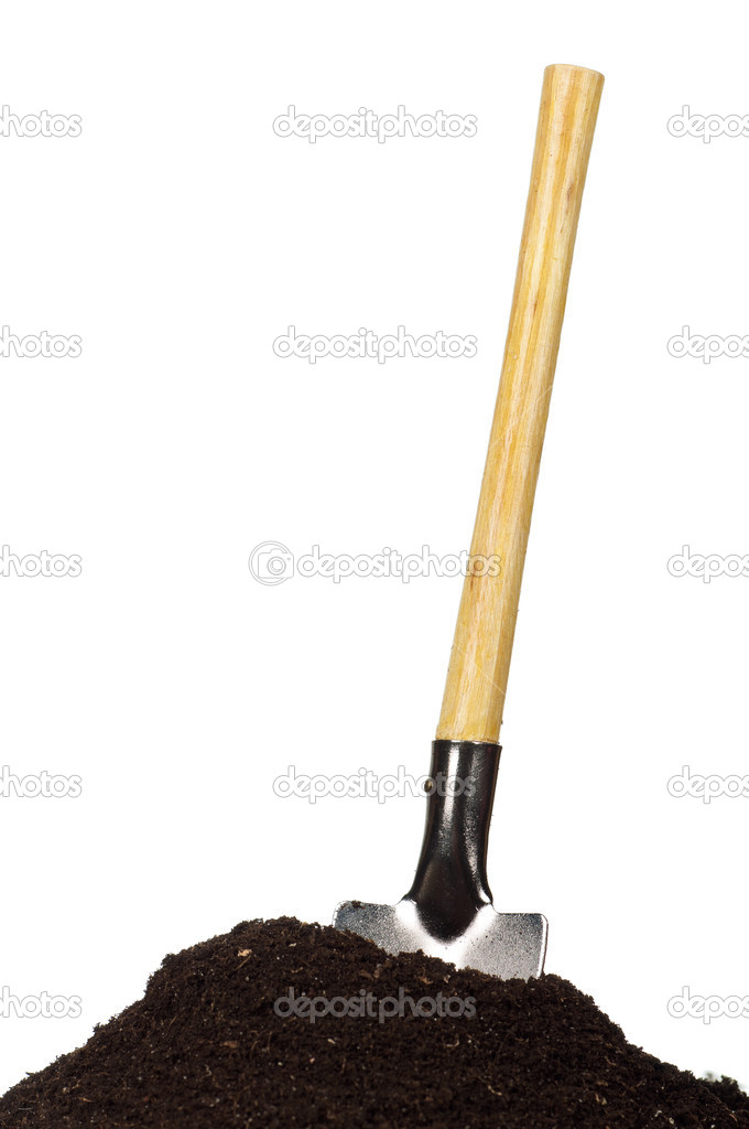 Soil and spade