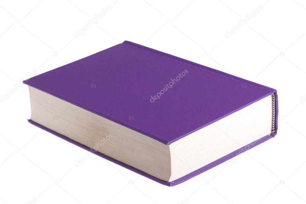 libro morado — Fotos de Stock © tehcheesiong #10573918