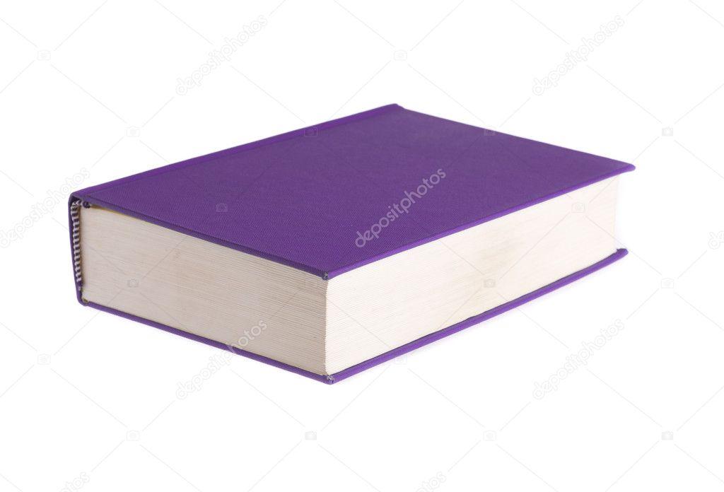 libro morado — Fotos de Stock © tehcheesiong #10573945