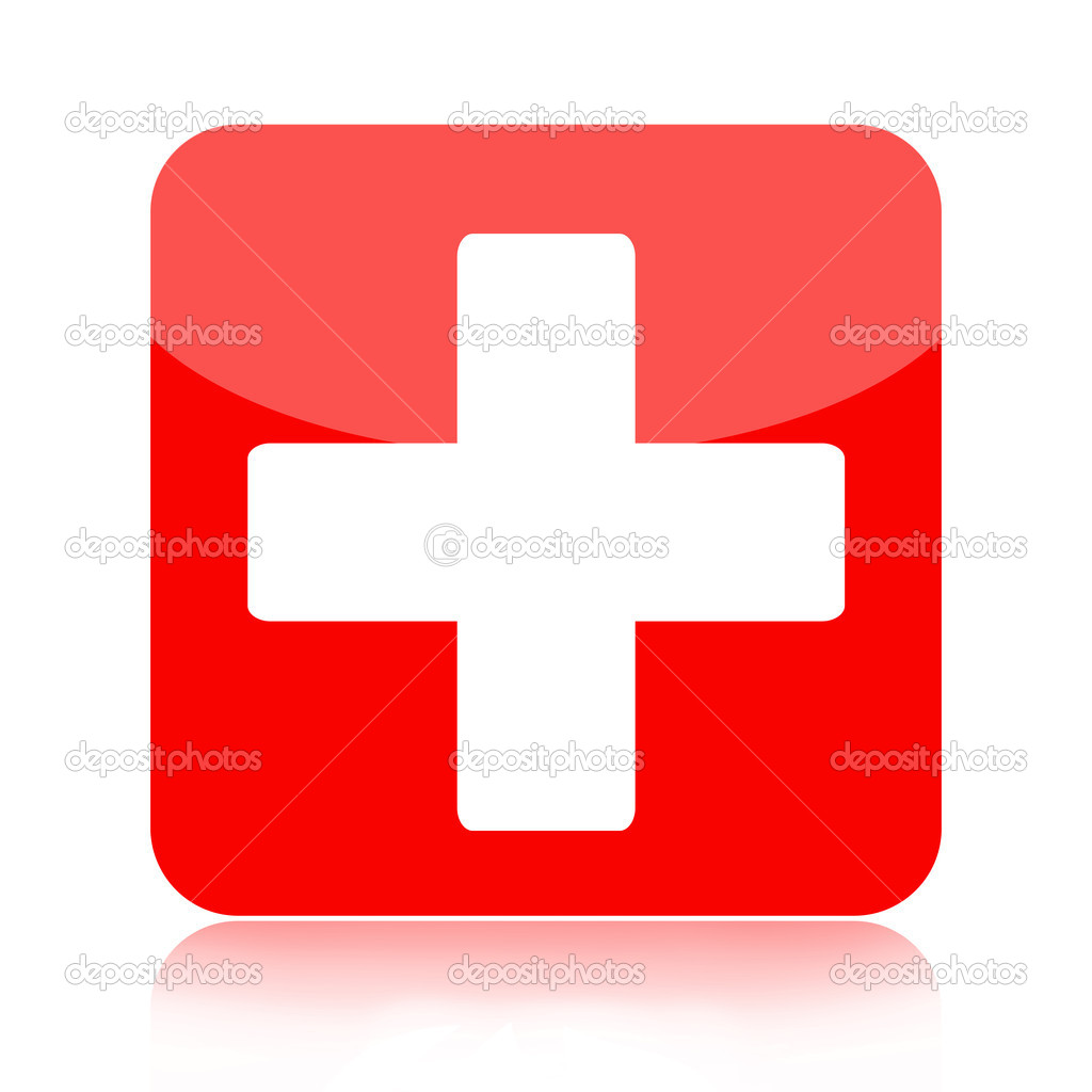 First aid medical button