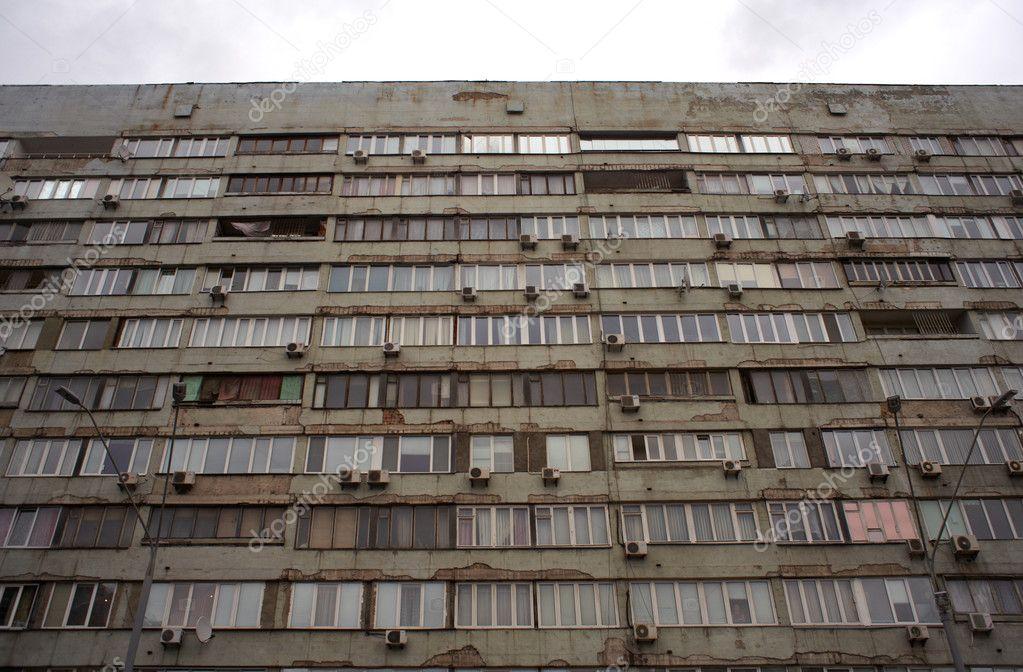 Soviet Era Apartment Block In Kiev Ukraine Photo By Bepsimage