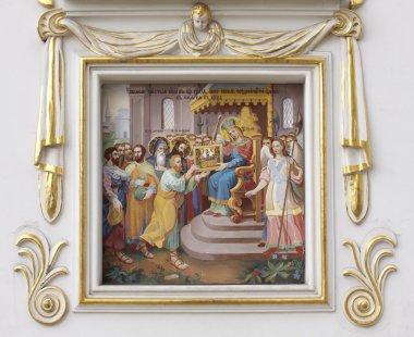 Fresco of Pechersk Lavra monastery, Kiev