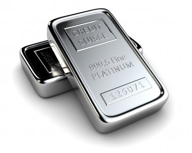 Two platinum ingots