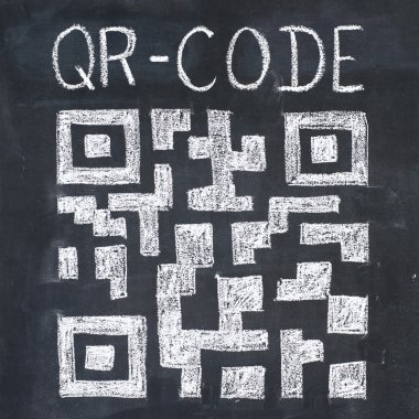 QR-code drawing