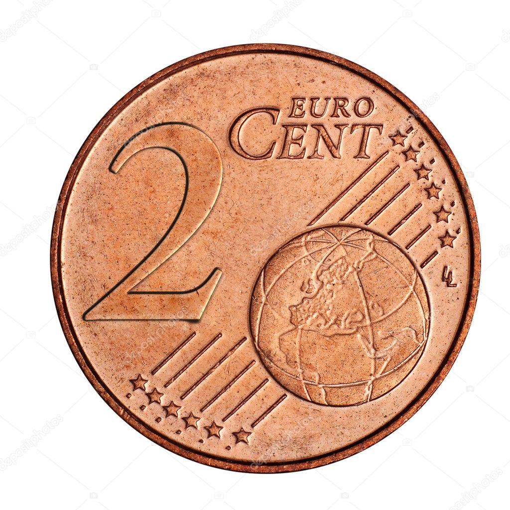 2 Euro Cent Münze Stockfoto Mpanch 8509971