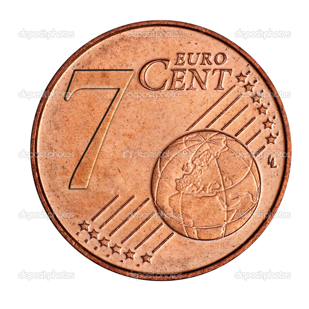 7 Euro Cent Münze Stockfoto Mpanch 8509982
