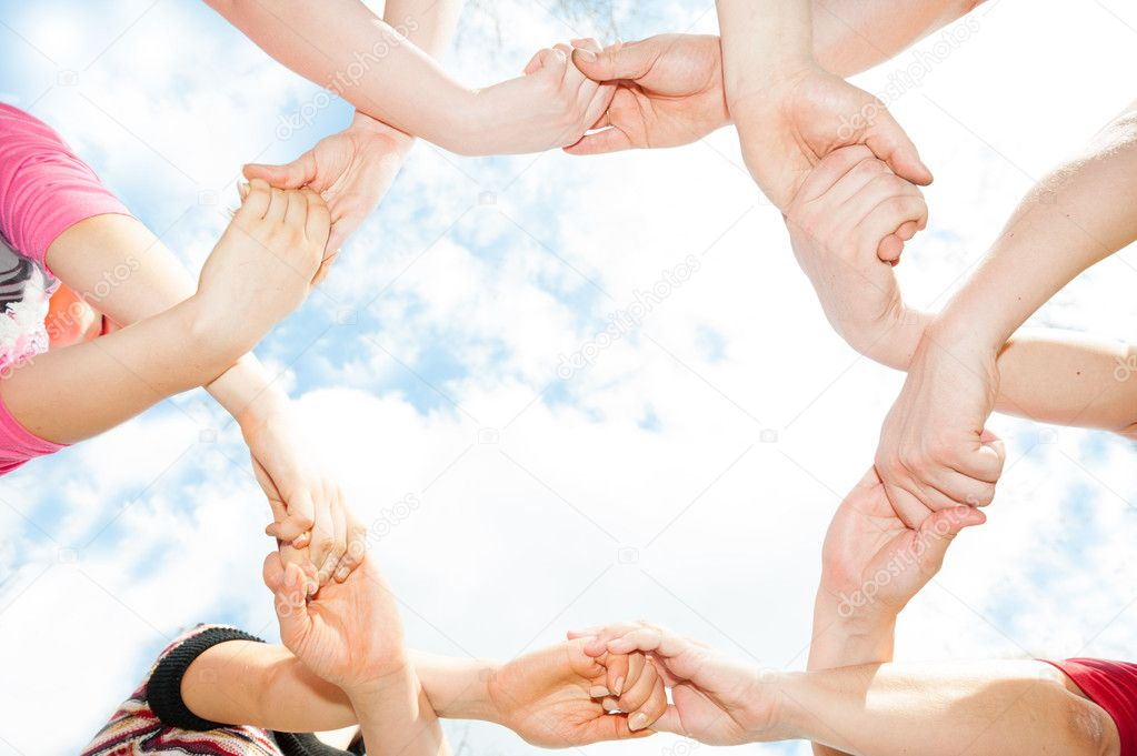 The unity of the hands