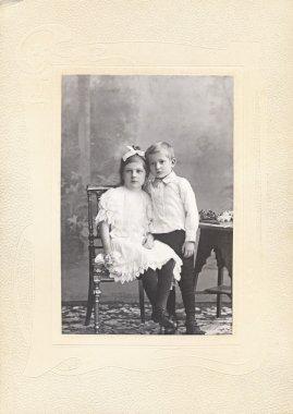 Children Vintage Photograph