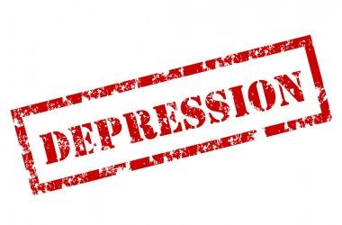 Grunge Depression stamp