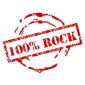 Grunge 100% Rock Stempel