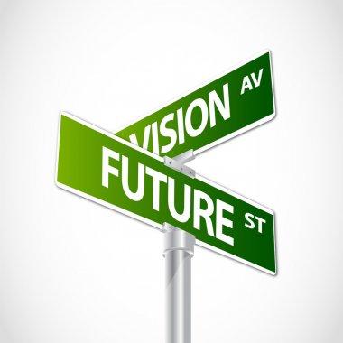 Future Vision sign