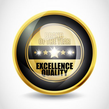 Brand of the year ''Excellence Quality'' button