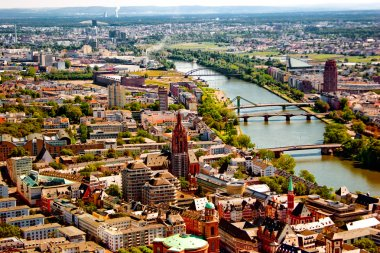 Frankfurt am Mein bird's eye view