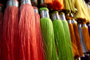 Colored fringes, Marocco