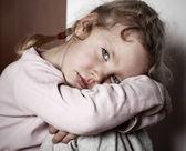 Fotografie trauriges Kind