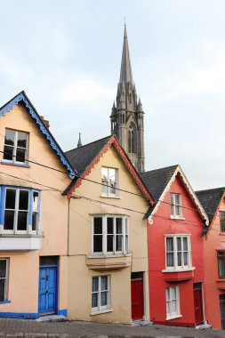 Terraced houses. Cobh, Ireland