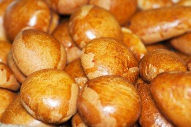 Baked cinnamon buns
