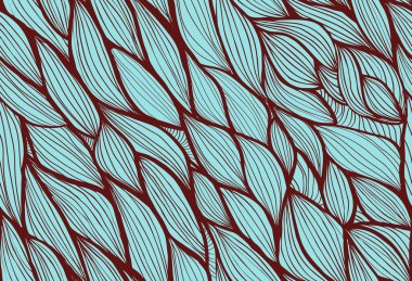 Abstract hand-drawn background