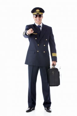 Smiling pilot