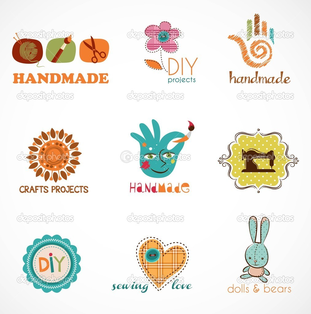 Craft and do it yourself collection of icons stock vector craft and do it yourself sewing knitting crafts hobbies vector by marish solutioingenieria Gallery