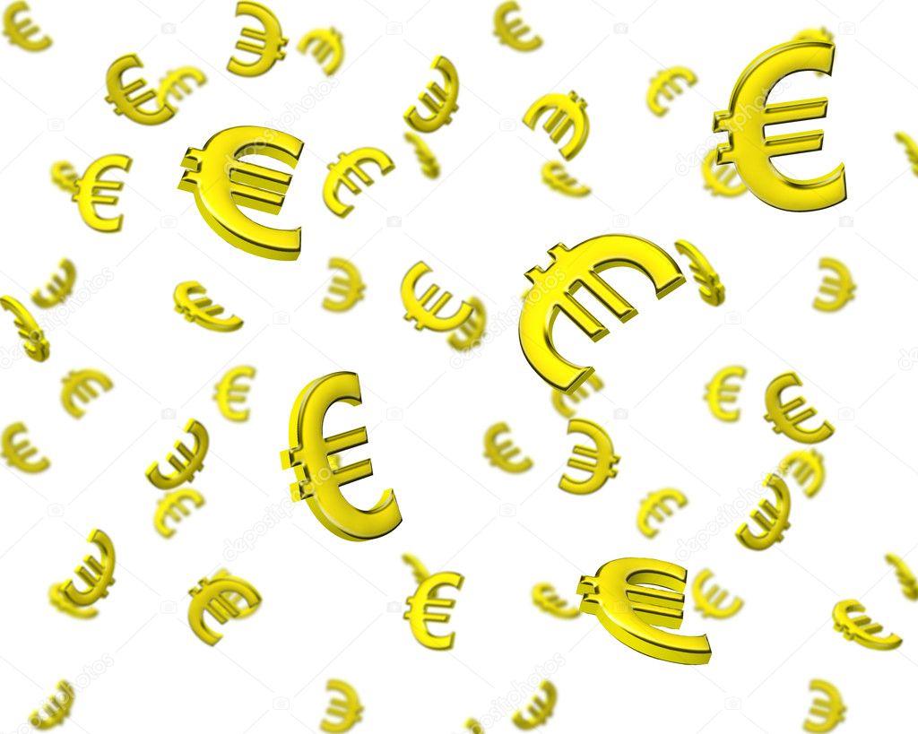 3d papier peint symbole d 39 euro photographie piotr marcinski 9200730. Black Bedroom Furniture Sets. Home Design Ideas