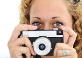 Roztomilá dívka s kamerou, samostatný