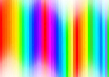 Abstract Rainbow Stripes