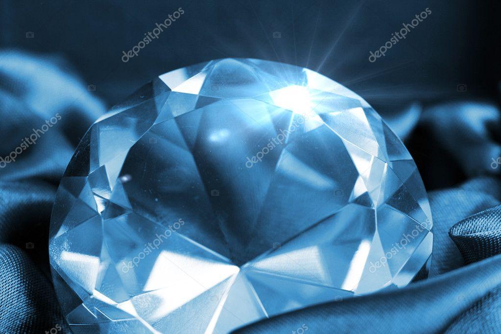 Close up of big and beautiful jewel