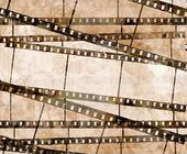 starý filmový pás