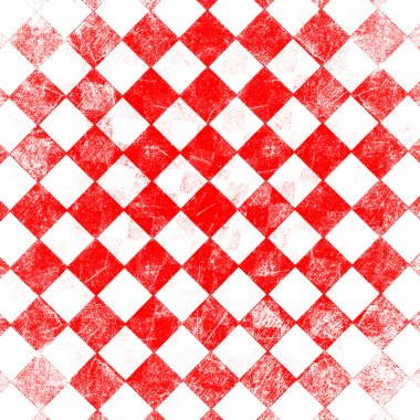 Grunge red checkered