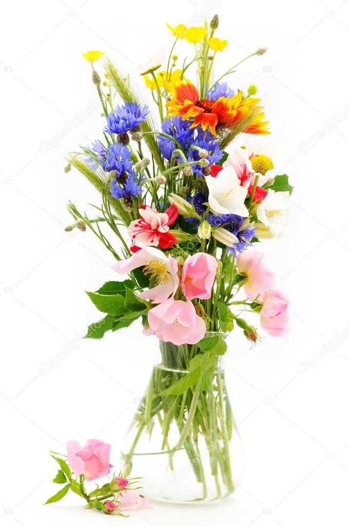 wilde bloemen boeket