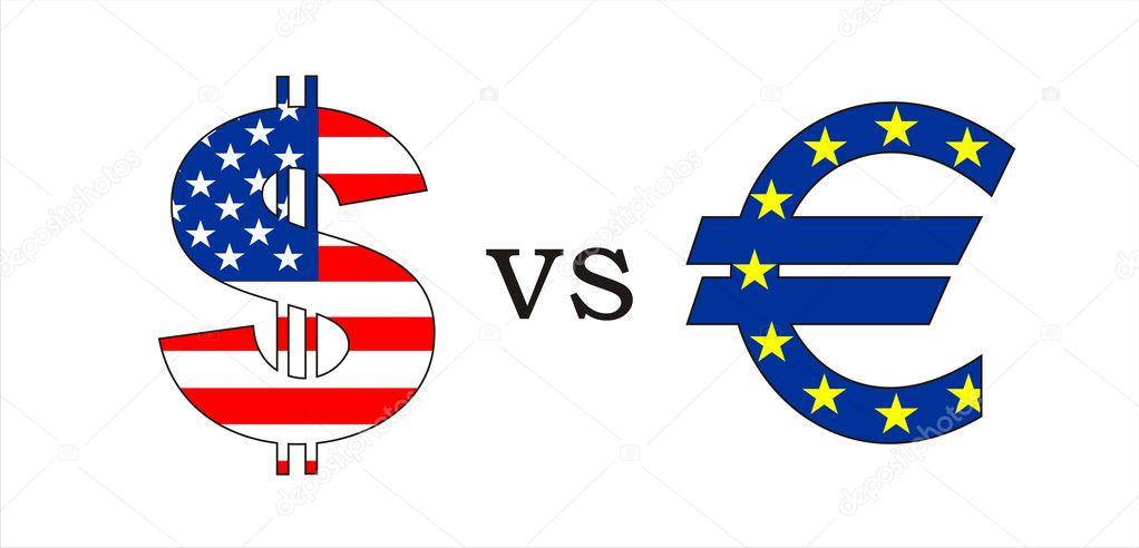 Dollar Vs Euro Stock Photo Tony4urban 10198345