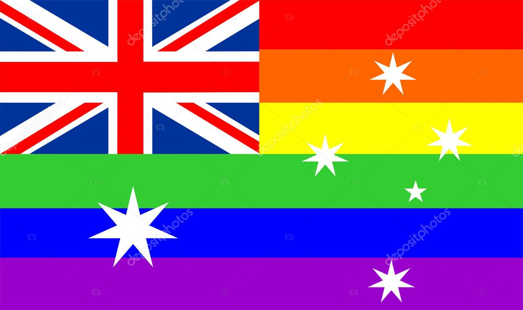 Resultado de imagen para AUSTRALIA CON BANDERA GAY