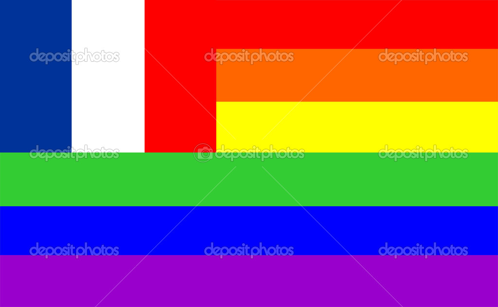 Risultati immagini per france gay drapeau