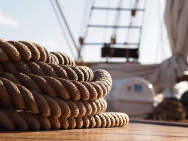 Rope on a Sailing Ship