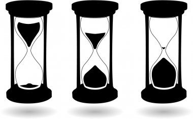 The black and white hourglass