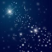 abstraktní hvězdnaté noční obloha