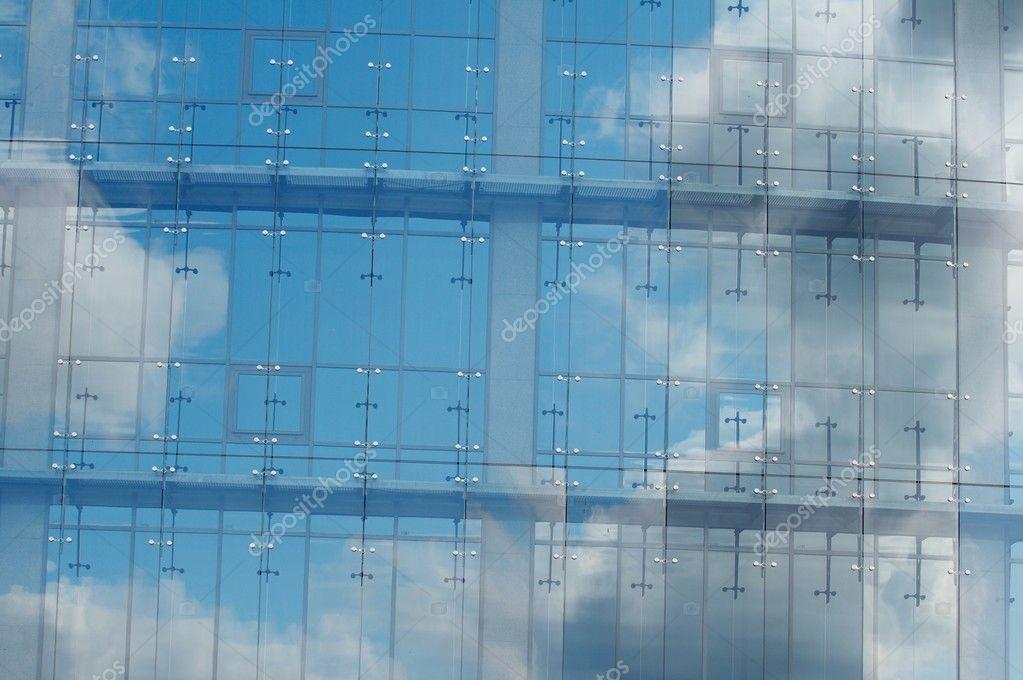 Das Haus Aus Glas Und Stahl Stockfoto C Strelok 10528139