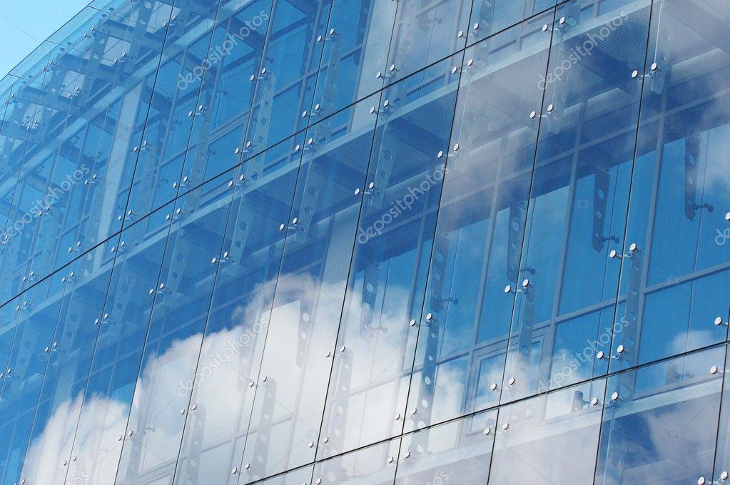 Das Haus Aus Glas Und Stahl Stockfoto C Strelok 9912175