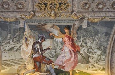 "Картина, постер, плакат, фотообои ""клетка ватиканского музея фрески"", артикул 8157275"