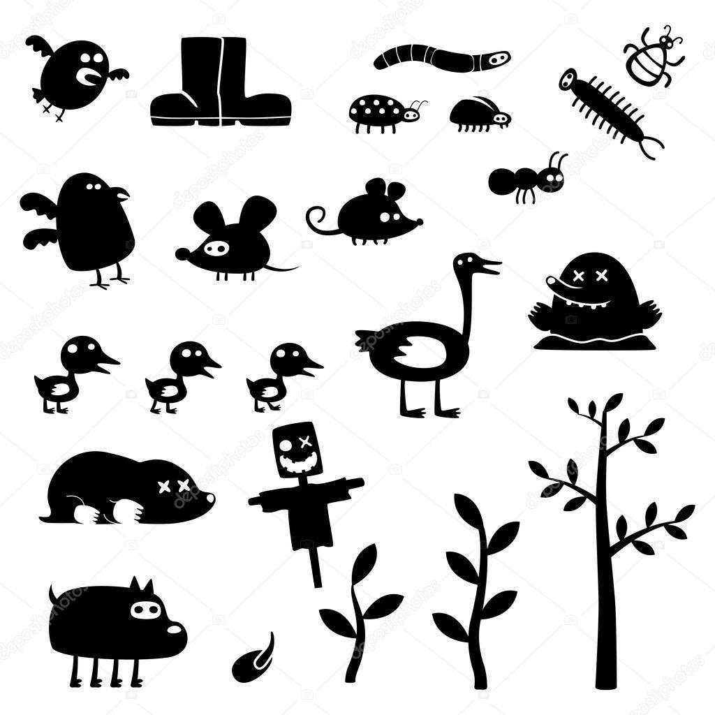 Monstres rigolos image vectorielle artenot 8620039 - Images de monstres rigolos ...