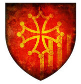 Languedoc roussillon coat of arms