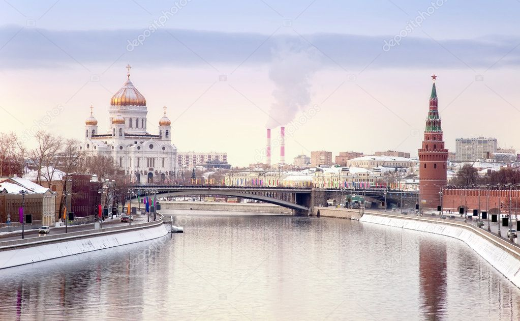 Moscow, the municipal landscape