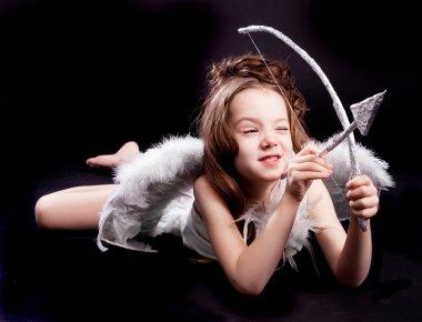 Cute cupid girl