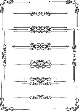 Dividers elements set