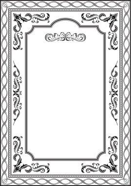 Exellent vintage frame