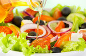 Fotografia insalata di verdure