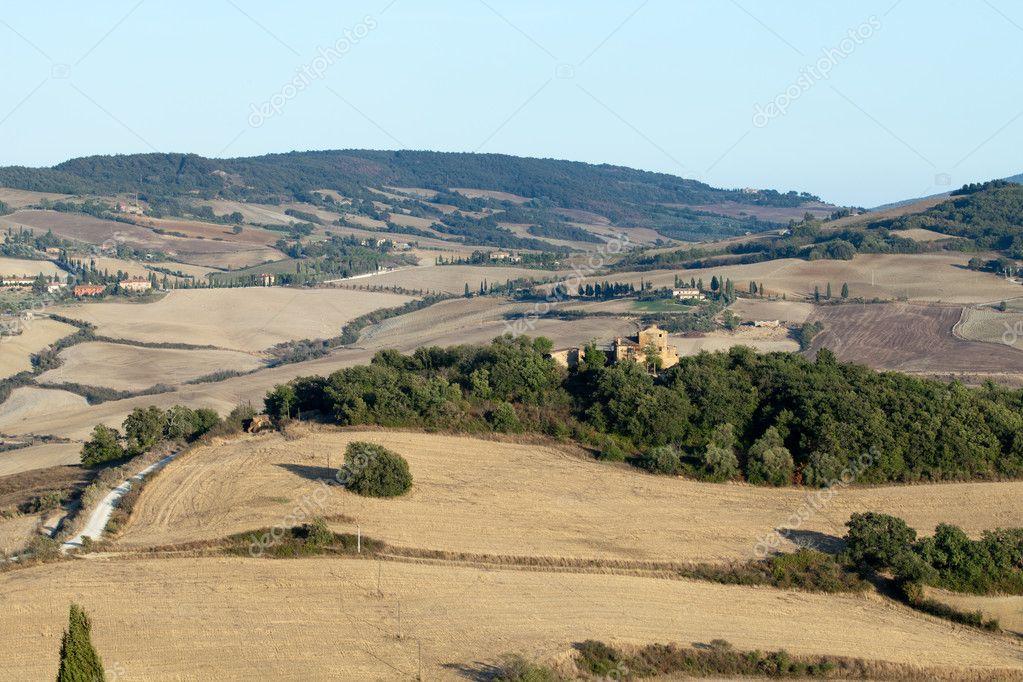 Фотообои The landscape of the Tuscany. Italy