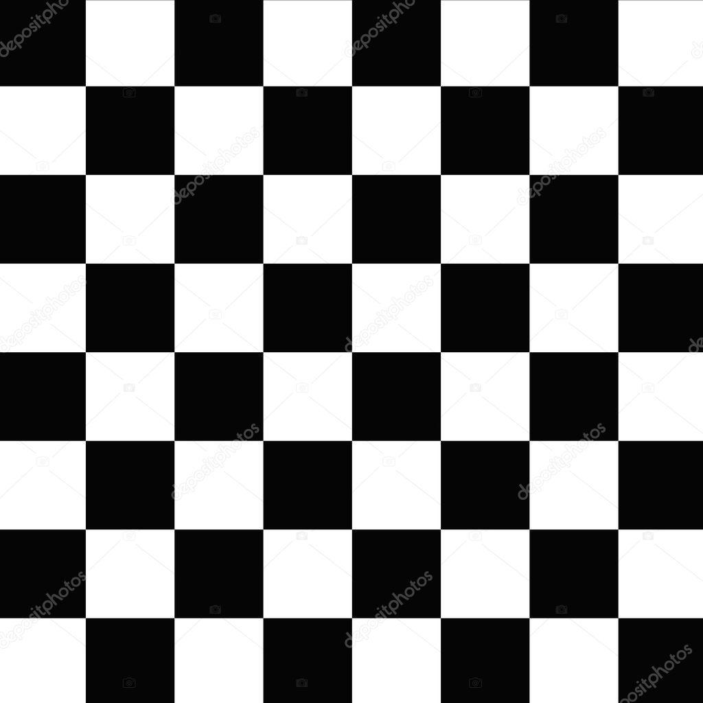 7a744f845 šachovnicový vzor bezešvé černé a bílé — Stock Fotografie ...